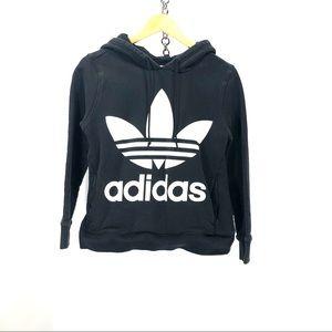 Adidas sweater hoodie size 8